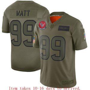 Texans #99 J.J. Watt Limited Jersey Camo